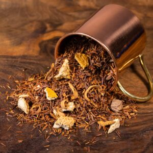 Chocolate Orange loose tea in cup