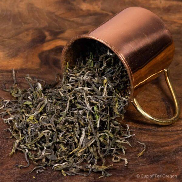 Hui Ming loose tea in cup