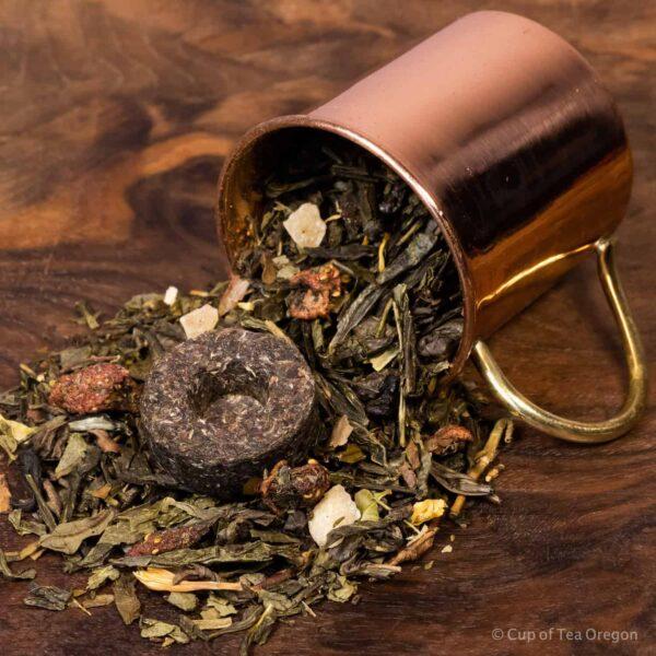 Immuni-Tea loose tea in cup