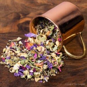 Tuscan Dreams loose tea in cup