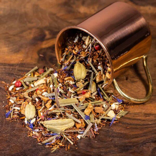 Zeste Eclair loose tea in cup