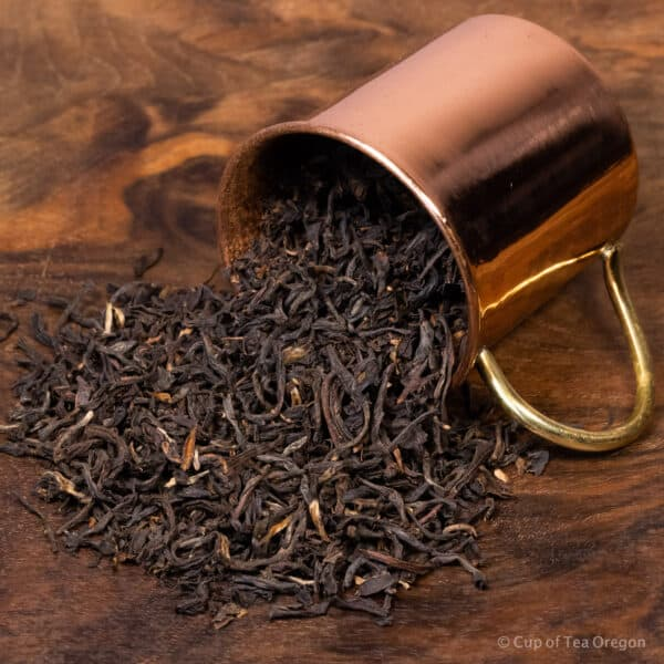 butterfly formosa loose tea in cup