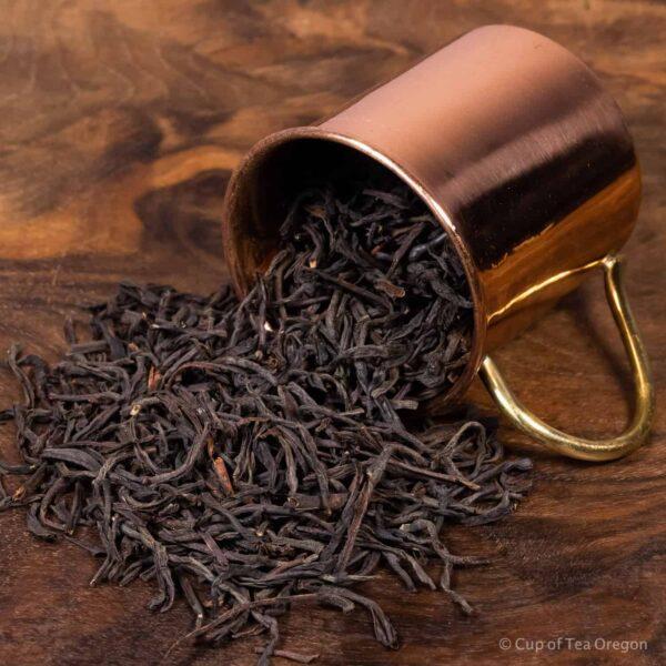 ceylon loose tea in cup