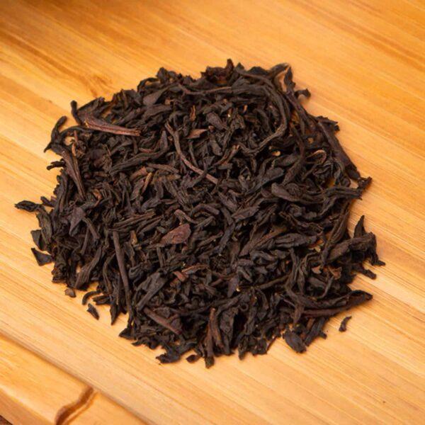 Earl Grey loose-leaf, black tea blend: Black tea, bergamot oil