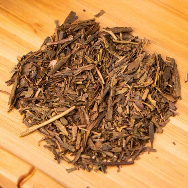 Hojicha loose-leaf, Japanese roasted green tea