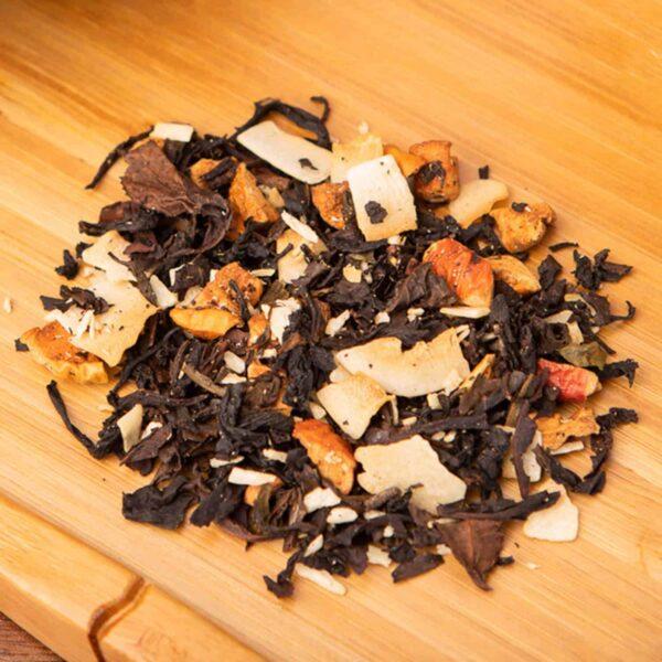 Kokosnuss loose-leaf, oolong tea blend: Coconut, oolong