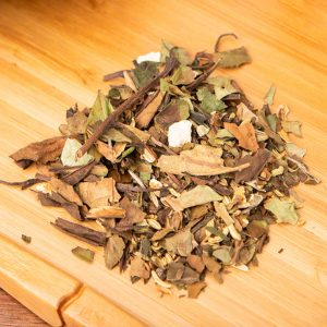 Orange Fennel loose-leaf, white tea blend: White tea, orange zest, fennel, fig, honey