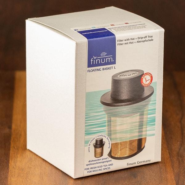 finim tea steeper packaging