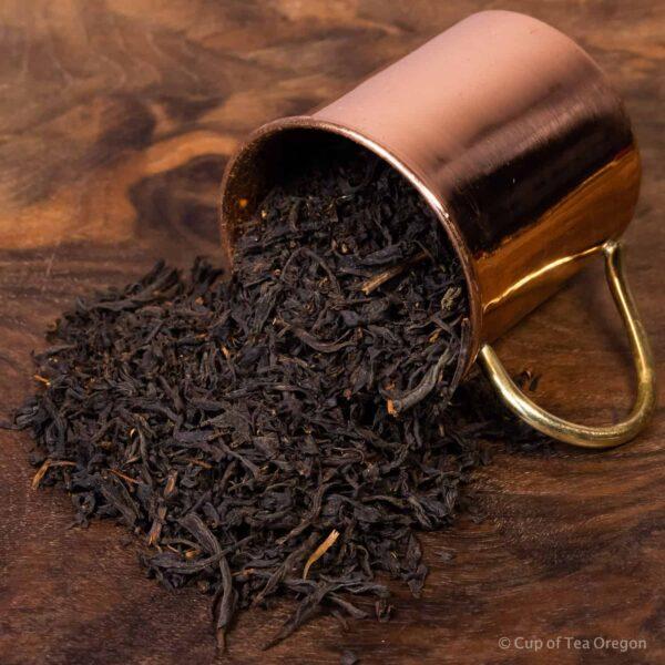 velvet vanilla loose tea in cup