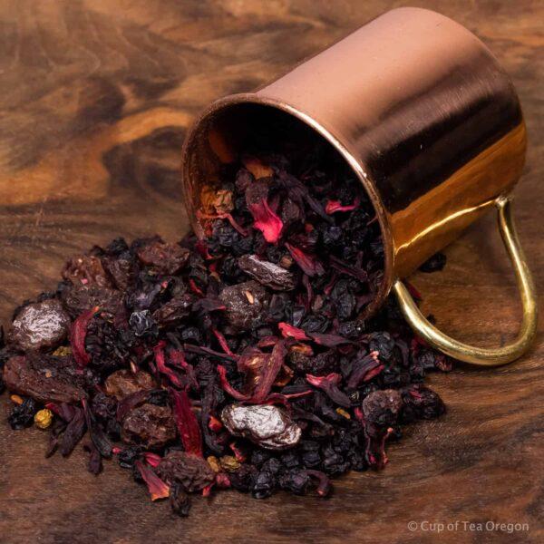 Current Affair loose tea in cup