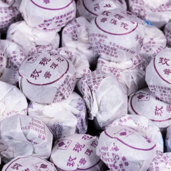 Rose Pu-erh Nest cakes