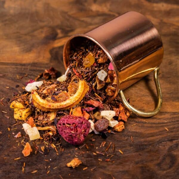 Foolishly Fruity loose tea in cup