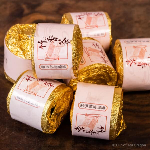 Mengku Ripe pu-erh cakes