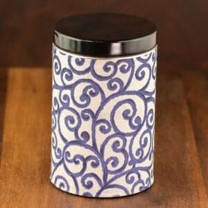 blue color tin windy gorge design small