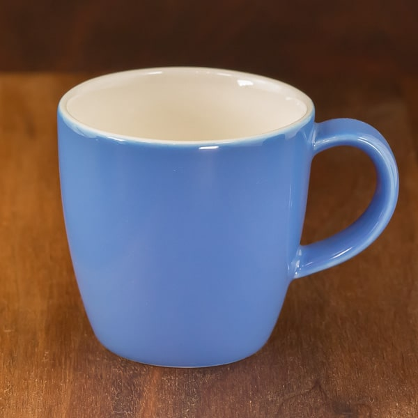 cup of tea small oolong cup blue