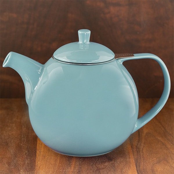 turqoise color forlife curve teapot