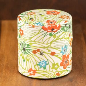 alta vista flowers design tin