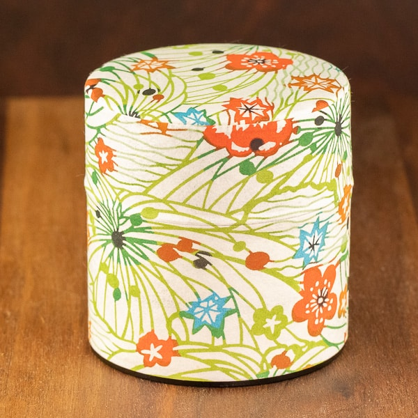 alta vista flowers design tin