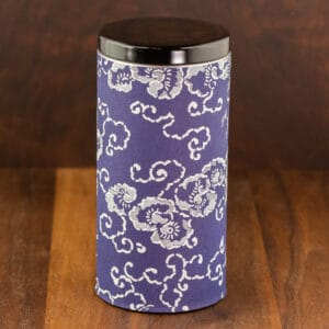 blue tin japanese garden design large