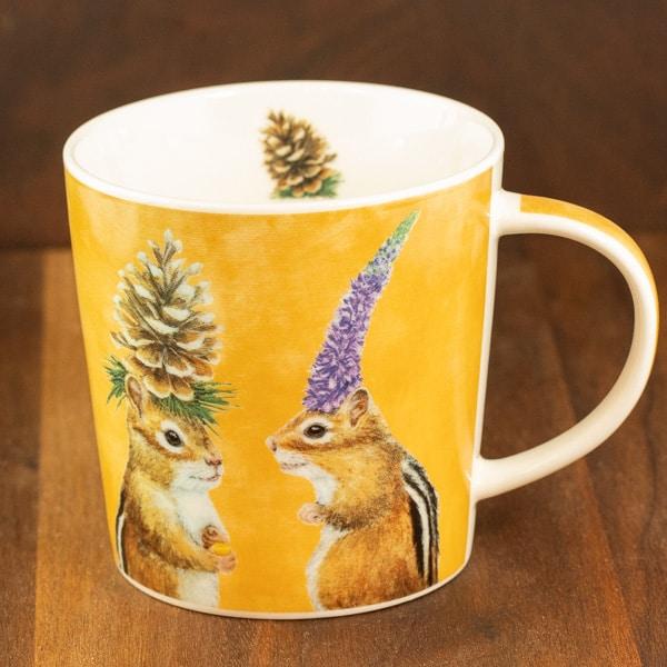 chipmunk courtship mug