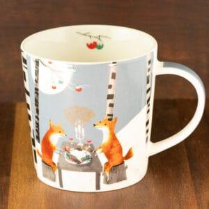 midnight feat holiday mug