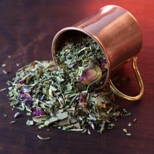 the heart feels all loose leaf tea