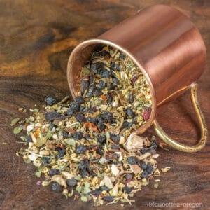 elderberry mix loose leaf tea