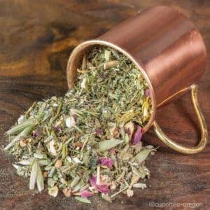 realign loose leaf tea