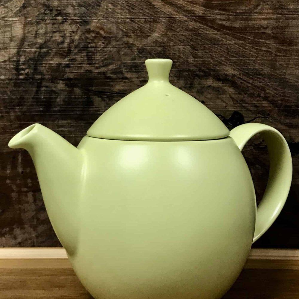 32-ounce, lemon teapot.
